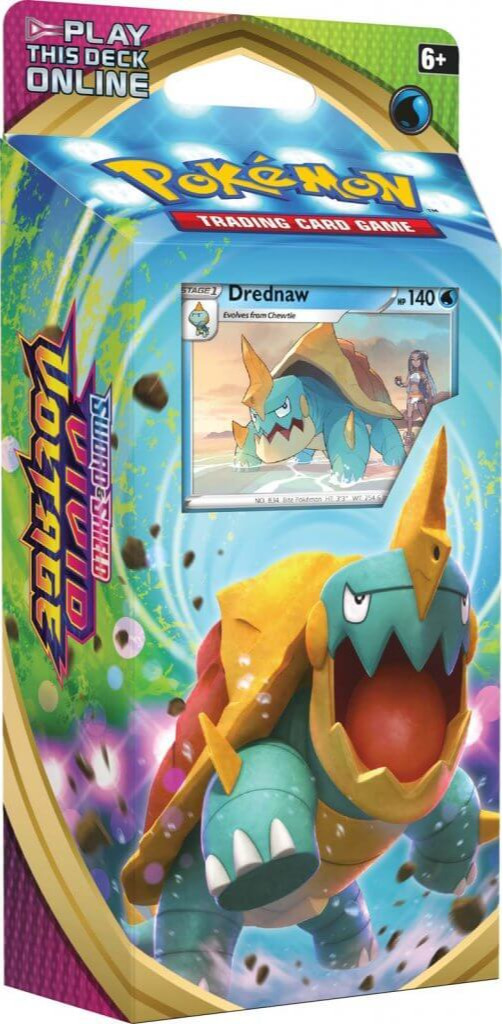 Karetní hra Pokémon TCG: Sword and Shield Vivid Voltage - Drednaw (Starter set) (PC)