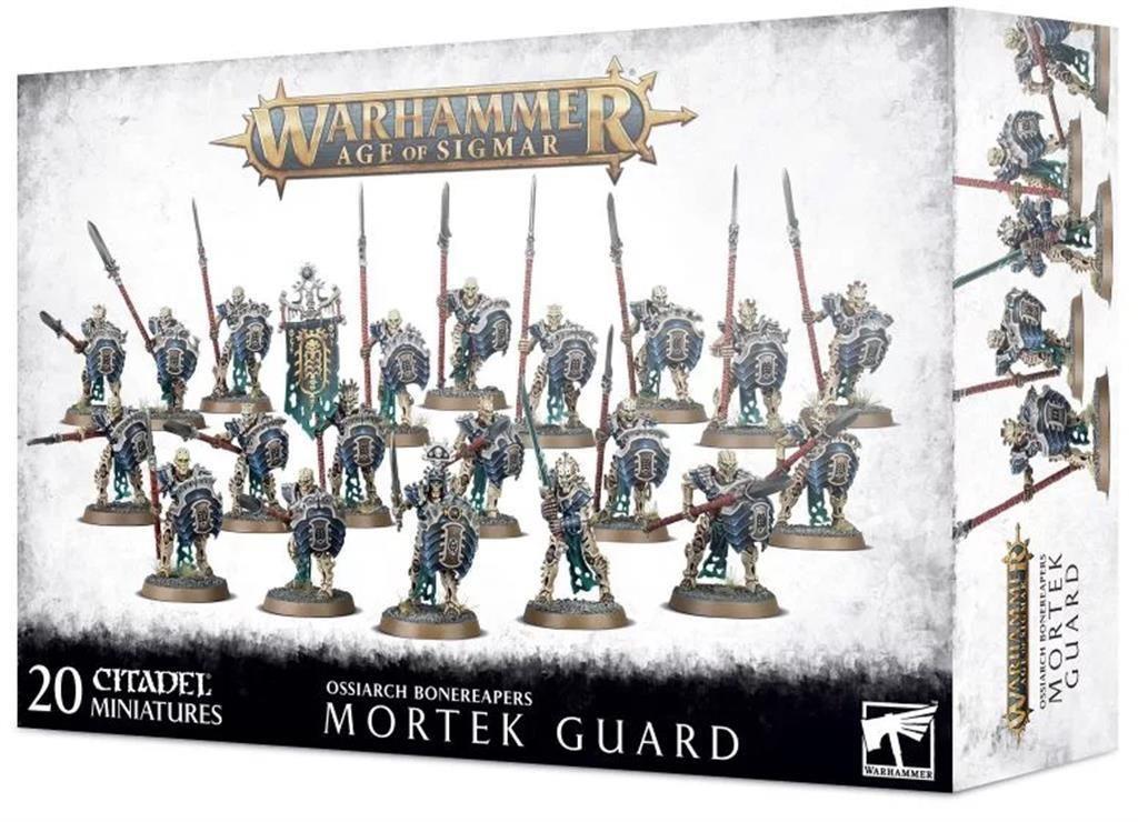 W-AOS: Ossiarch Bonereapers Mortek Guard (20 figurek) (PC)