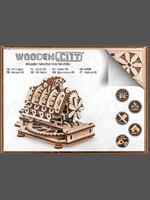 Stavebnice - Motor V8 (dřevěná)