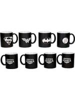 Hrnek DC Comics - Justice League (sada 4 hrnků)