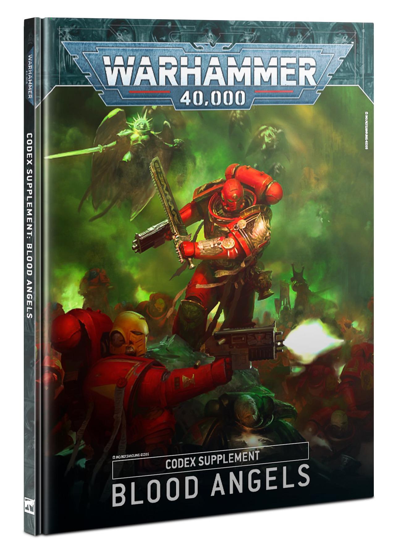 Kniha W40k: Codex: Blood Angels (2020) (PC)
