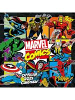 Kalendář Marvel 2021