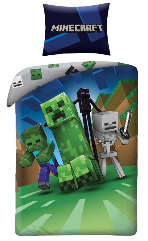 Povlečení Minecraft - Monsters (PC)