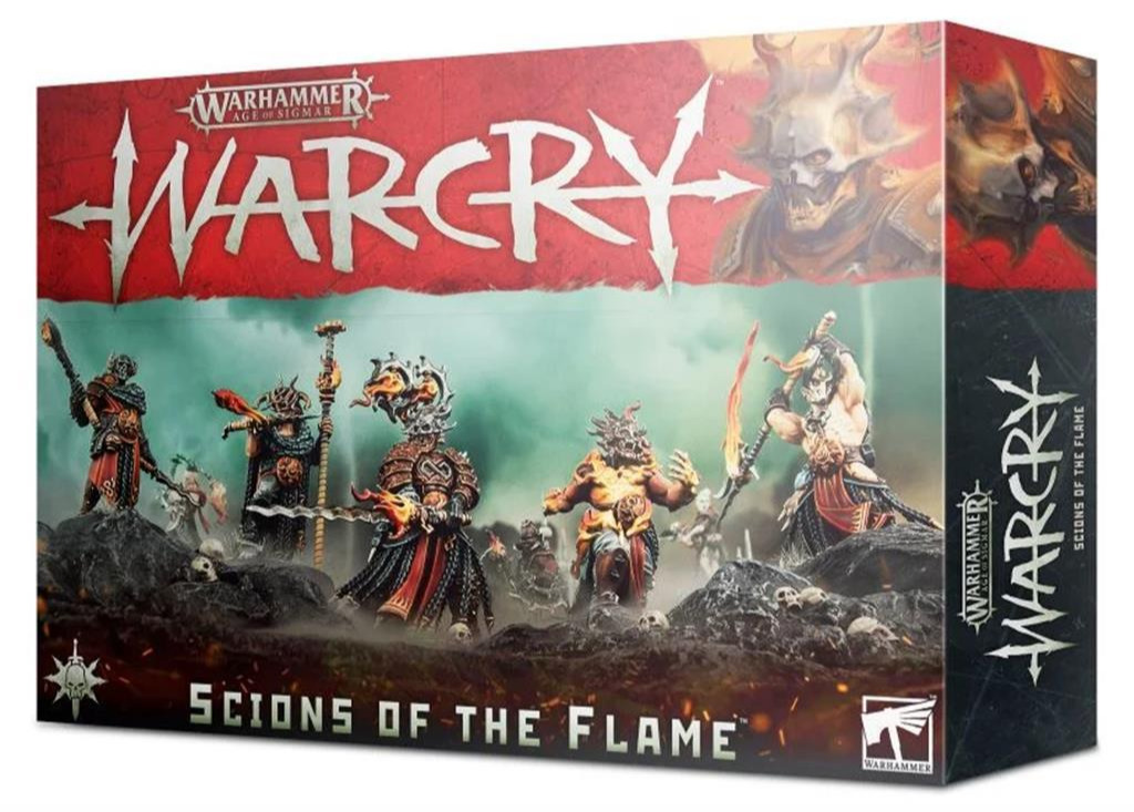W-AOS: Warcry - Scions of The Flame (8 figurek)
