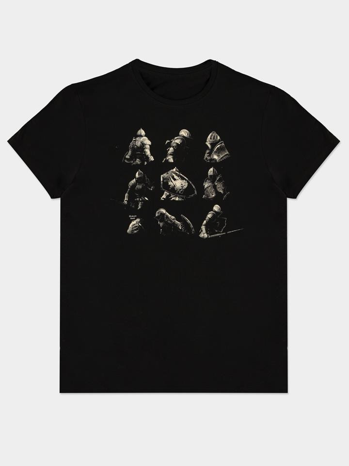 Tričko Demon's Souls - Knight Poses (velikost XXL) (PC)