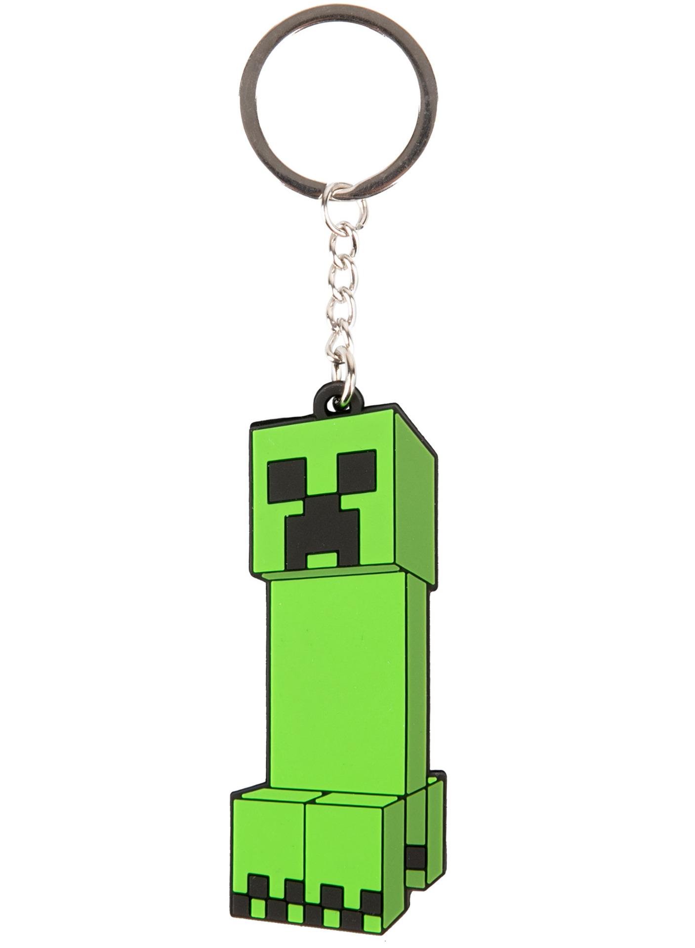 Klíčenka Minecraft - Creeper Anatomy