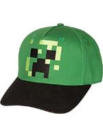 Kšiltovka dětská Minecraft - Pixel Creeper