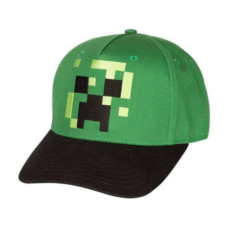 Kšiltovka dětská Minecraft - Pixel Creeper (PC)