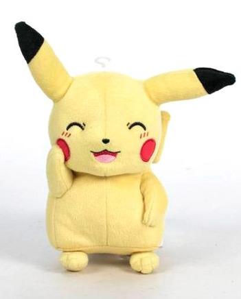 Plyšák Pokémon - Pikachu Shy (18 cm) (PC)