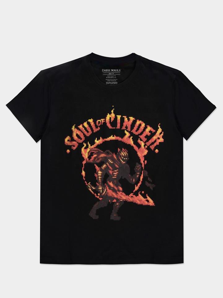 Tričko Dark Souls - Soul of Cinder (velikost XL)