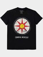 Tričko Dark Souls - Solaire Shield (velikost L)