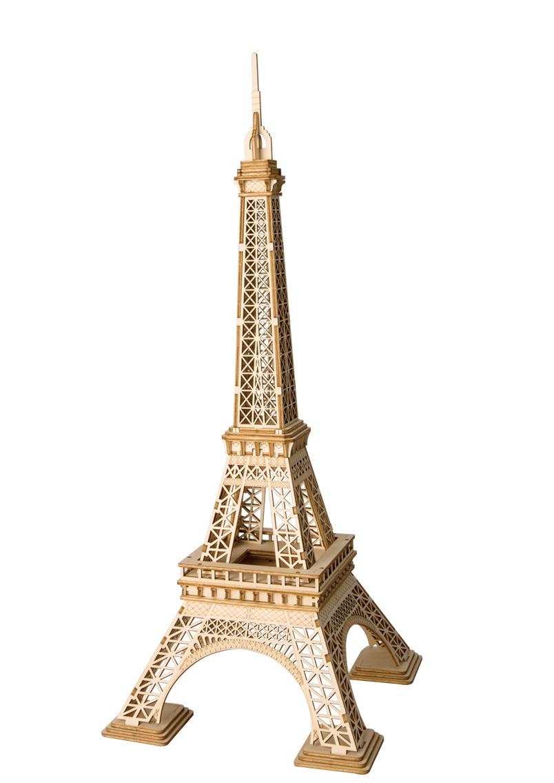 Stavebnice - Eiffelova věž (dřevěná) (PC)