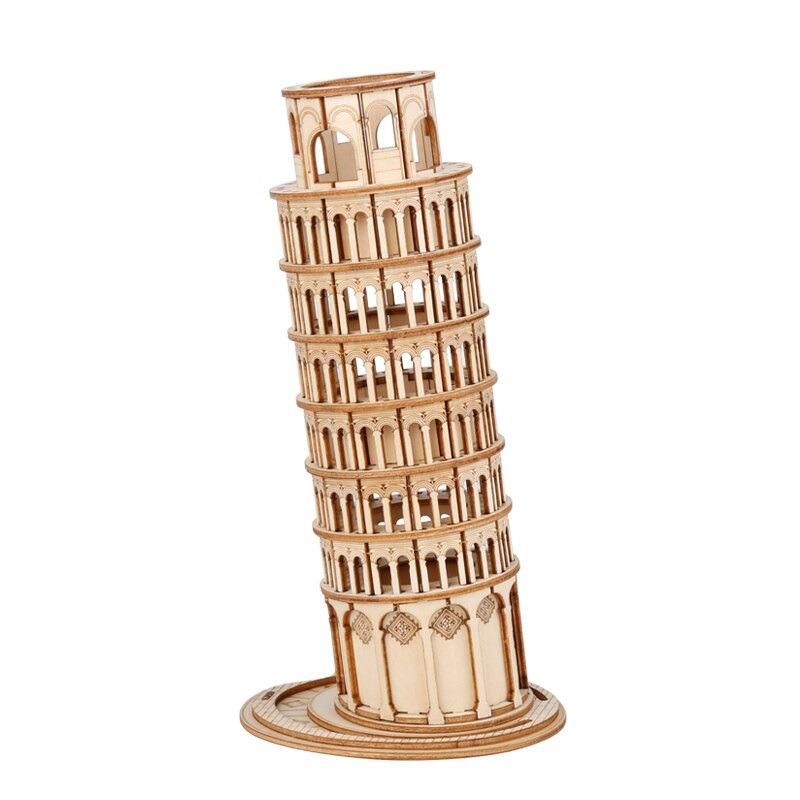 Stavebnice - Šikmá věž v Pise (dřevěná) (PC)