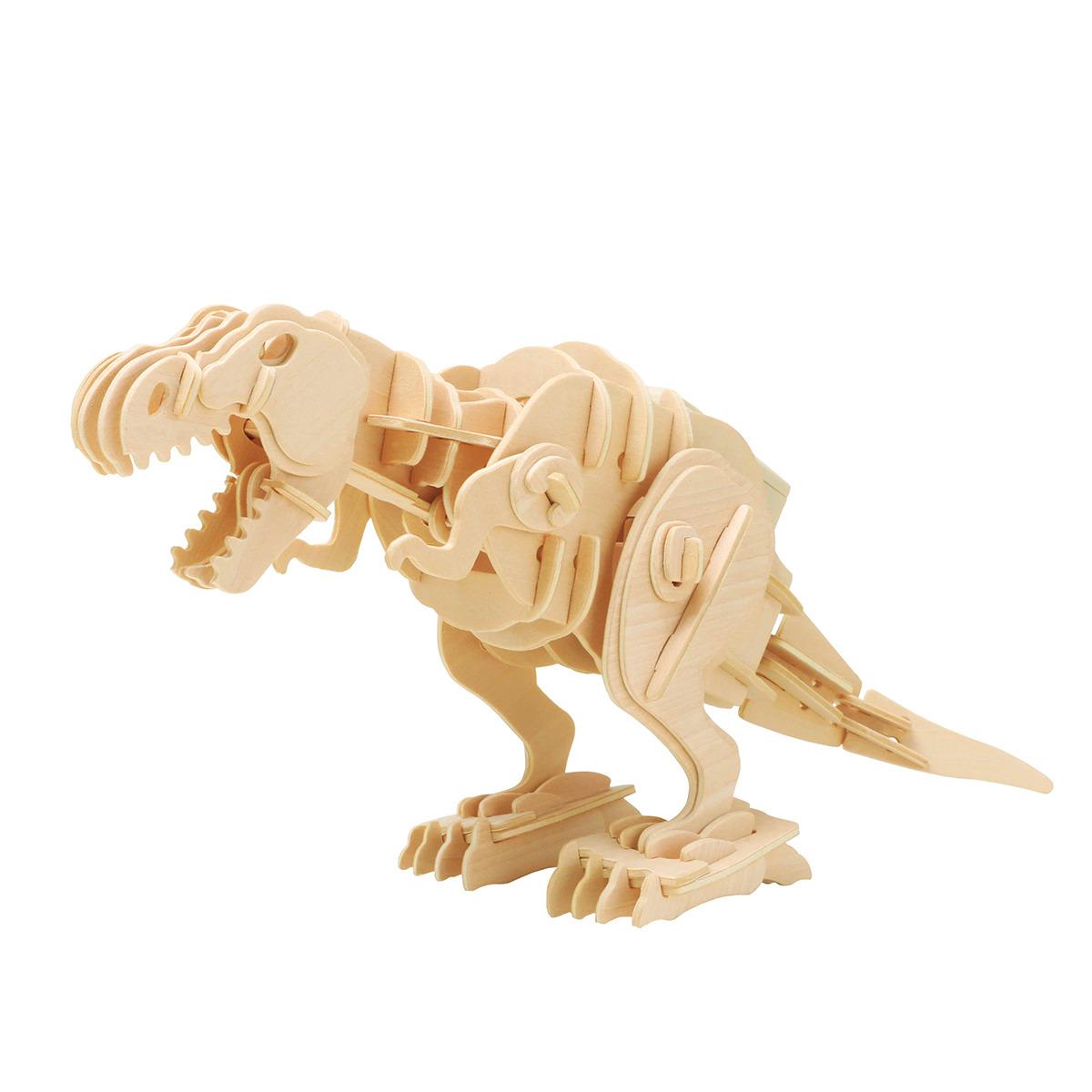 Stavebnice - Kousající T-Rex (dřevěná) (PC)
