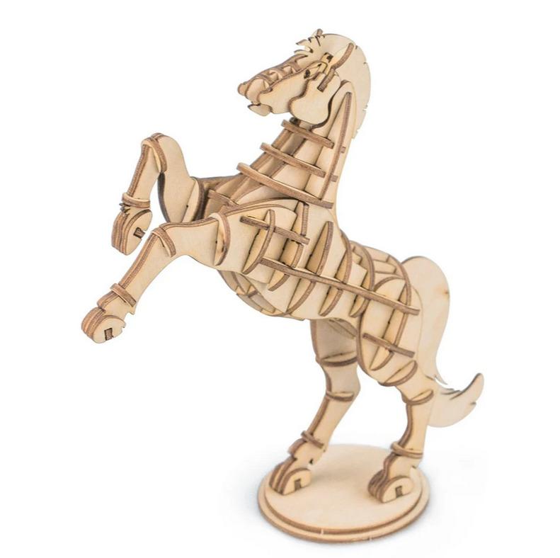 Stavebnice - Kůň (dřevěná)