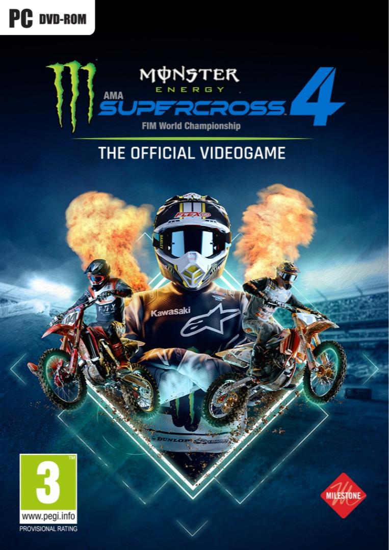 Monster Energy Supercross 4 (PC)