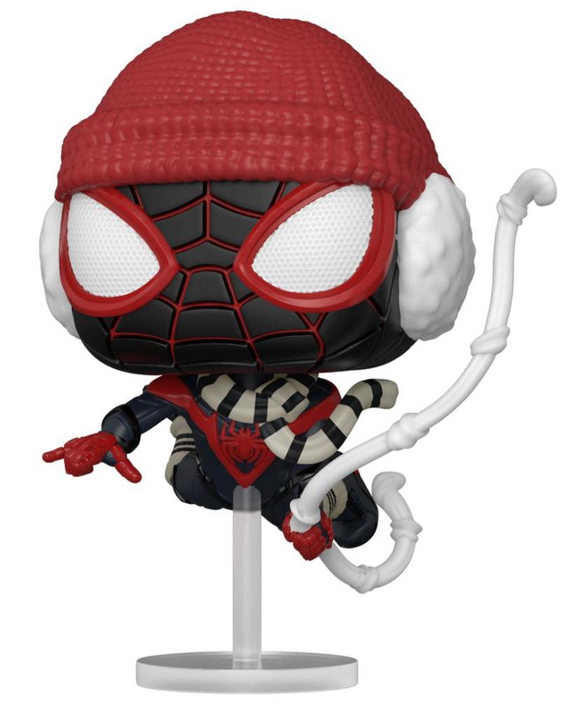 Figurka Spider-Man - Miles Morales Winter Suit (Funko POP! Games 771)