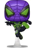 Figurka Spider-Man - Miles Morales Purple Rein Suit Metallic (Funko POP! Games)