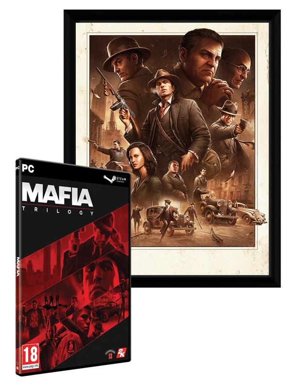 Mafia Trilogy + Zarámovaný plakát Cosa Nostra (PC)