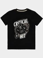 Tričko Dungeons & Dragons - Critical Hit (velikost S)
