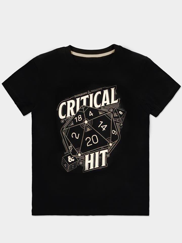 Tričko Dungeons & Dragons - Critical Hit (velikost XXL) (PC)