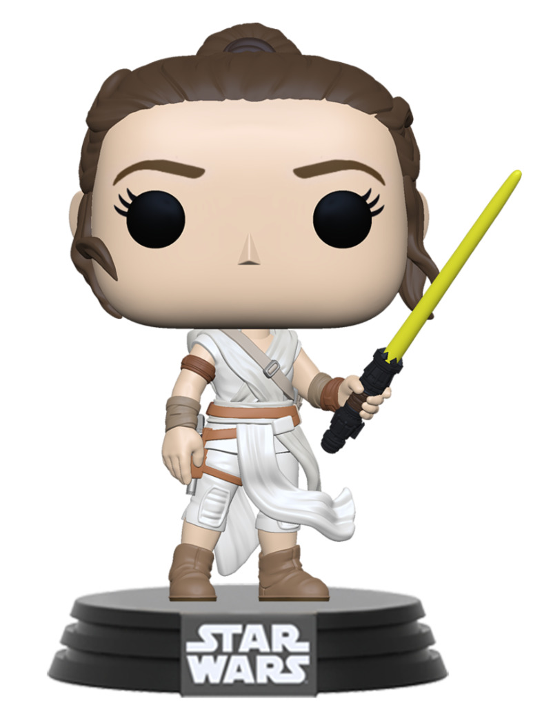 Figurka Star Wars - Rey with Yellow Lightsaber (Funko POP! Star Wars)