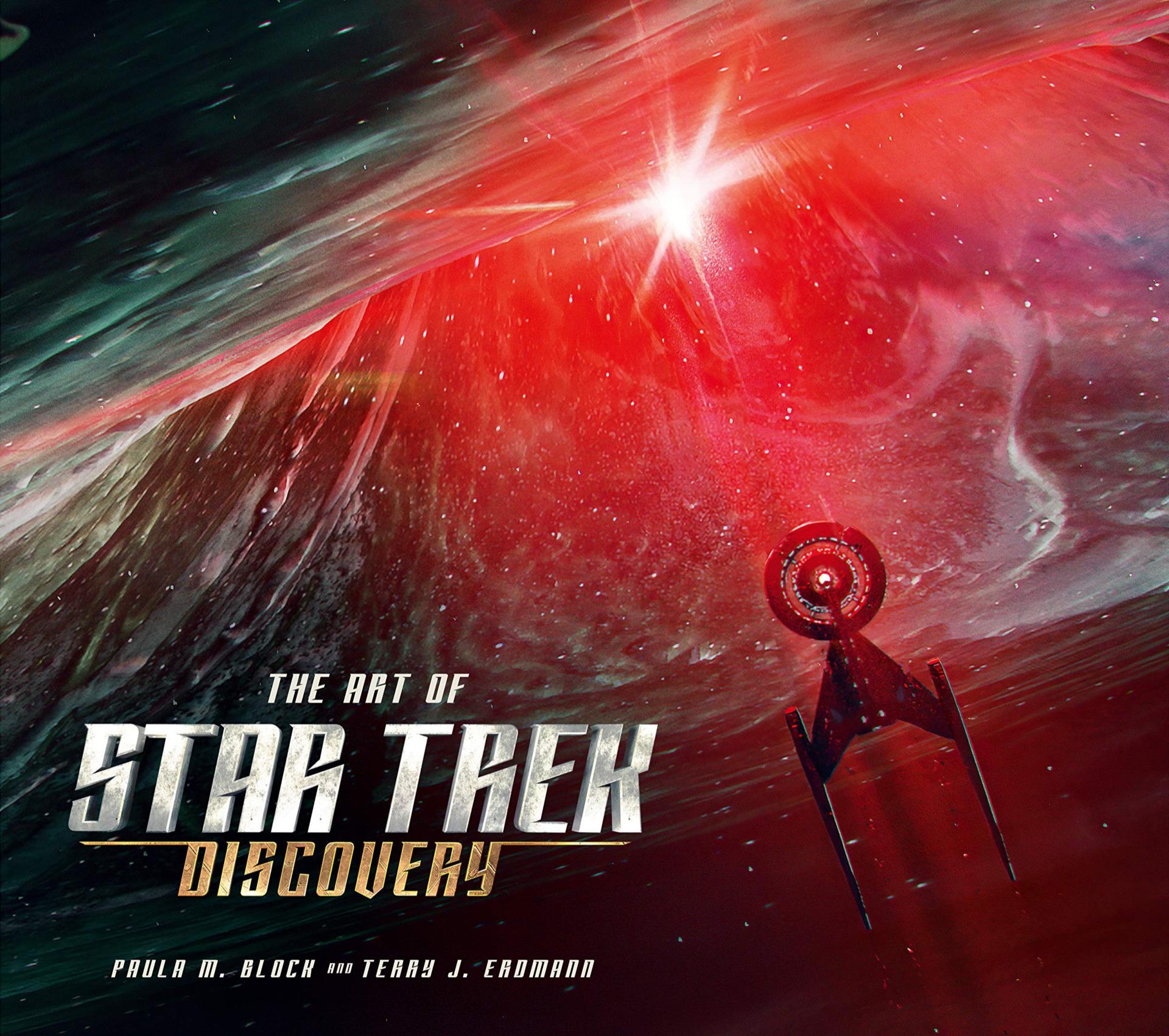 Kniha The Art of Star Trek: Discovery (PC)