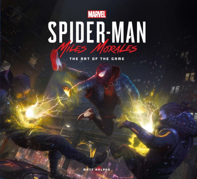 Kniha Marvels Spider-Man: Miles Morales - The Art of the Game (PC)