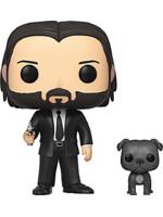 Figurka John Wick - John Wick in Black Suit with Dog (Funko POP! Movies 580)