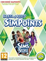 The Sims 3 Store 1000 Simspoints - předplacená karta (PC)