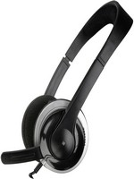 SNAPPY Stereo Headset - BLACK