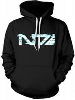 Mass Effect 3 - Hoodie, glitch N7 Logo, black S (PC)