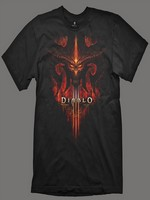 Tričko Diablo 3 - Burning, Black, M