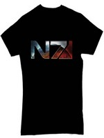 Mass Effect 3 - Chrome N7 Logo, M (PC)