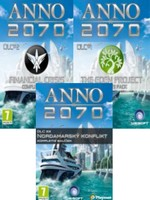 Anno 2070 - DLC1 + DLC2 + DLC3
