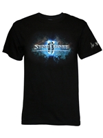 Tričko Starcraft II - Logo (velikost M) (PC)