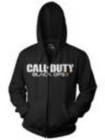Call of Duty Black Ops 2 - Black Logo Zipper Hoodie L (PC)