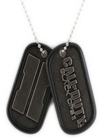 Call of Duty Black Ops 2 - Stamped Logo Dog Tag Pair
