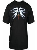 Tričko Diablo 3 - Tyrael (americká vel. M / evropská L)