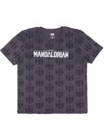 Tričko Star Wars: The Mandalorian - Logo