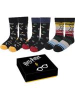 Ponožky Harry Potter - Sada (3 páry)