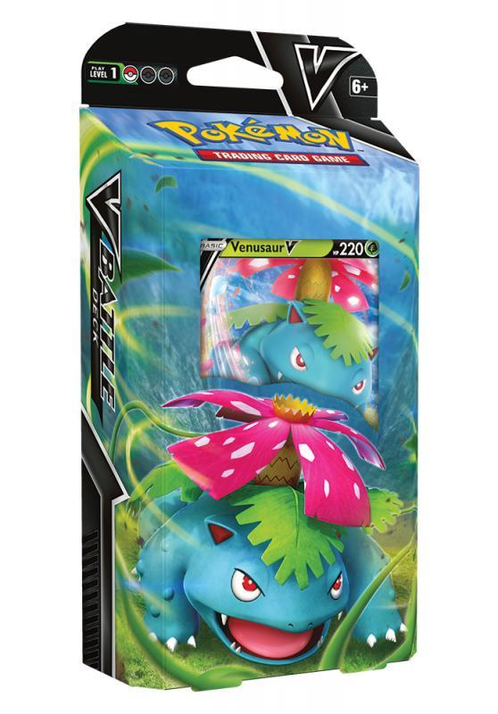 Karetní hra Pokémon TCG - V Battle Deck Venusaur V