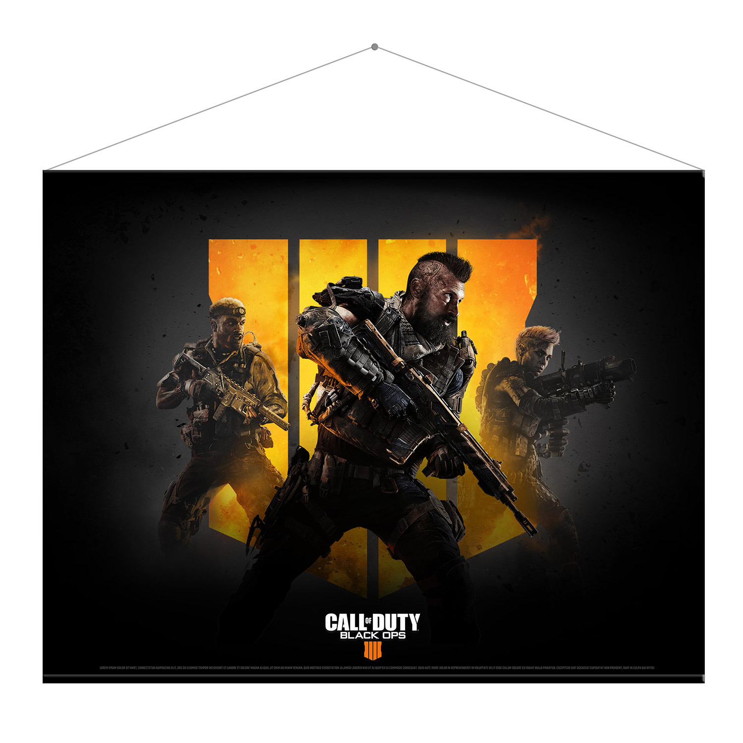 Wallscroll Call of Duty: Black Ops 4 - Keyart (PC)