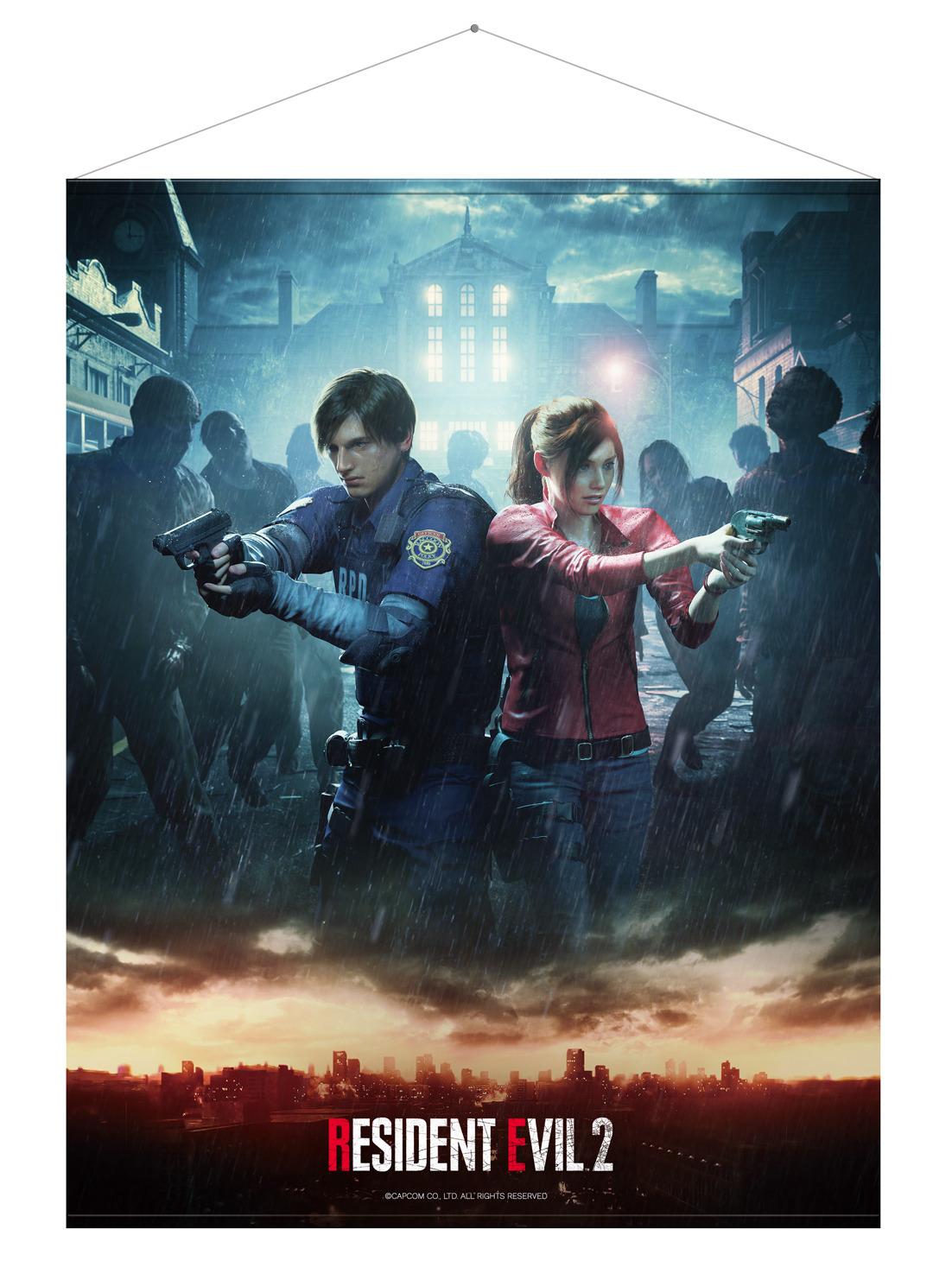 Wallscroll Resident Evil 2 - Leon & Claire