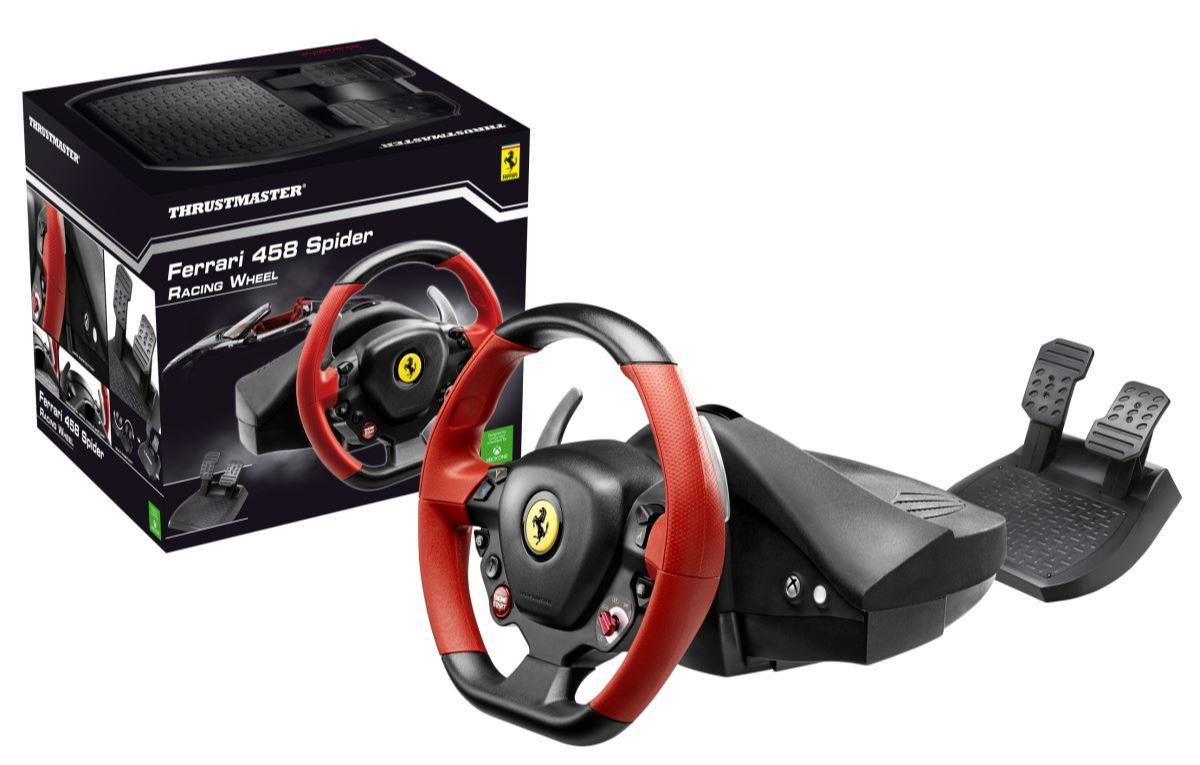Sada volantu a pedálů Thrustmaster Ferrari 458 SPIDER (Xbox One, Xbox Series X | S) (XBOX)