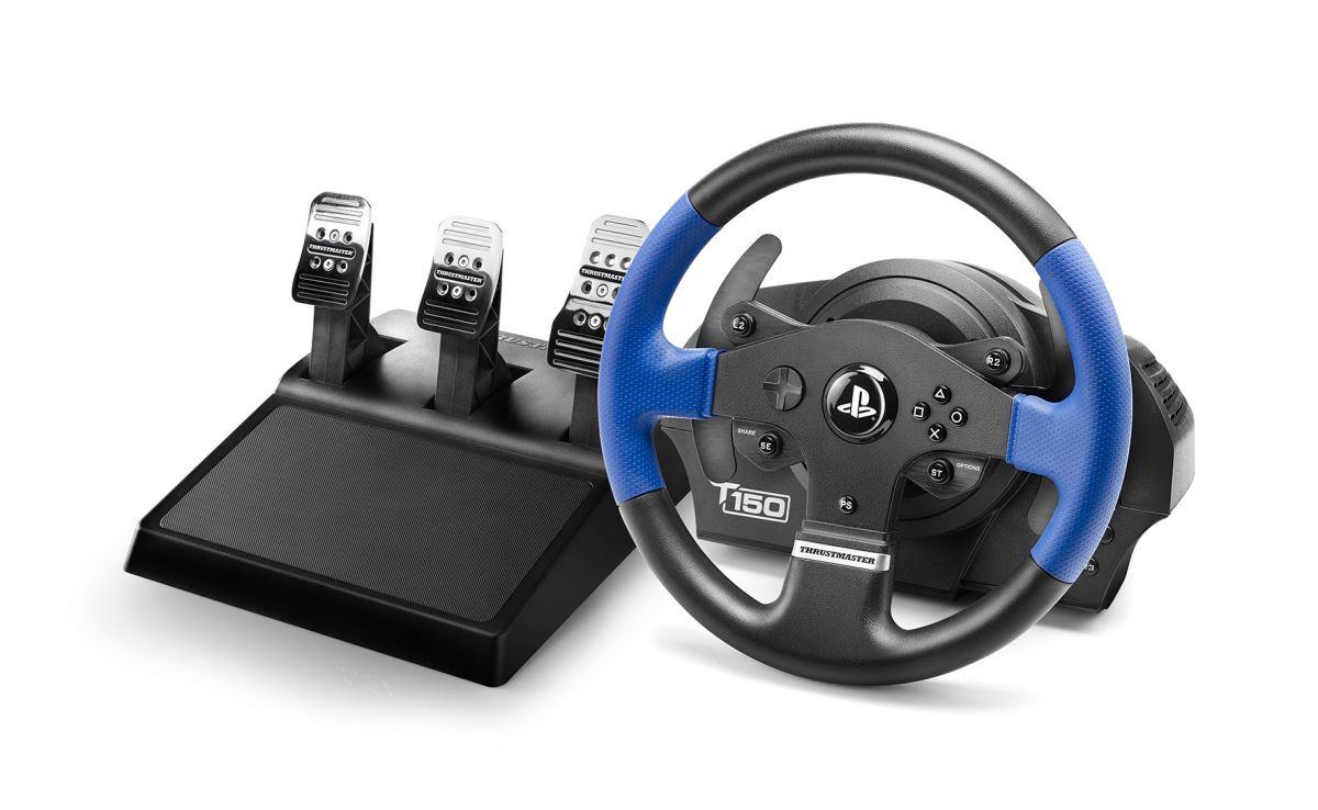 Sada volantu Thrustmaster T150 PRO a 3-pedálů T3PA (PS5, PS4, PS3 a PC) (PC)