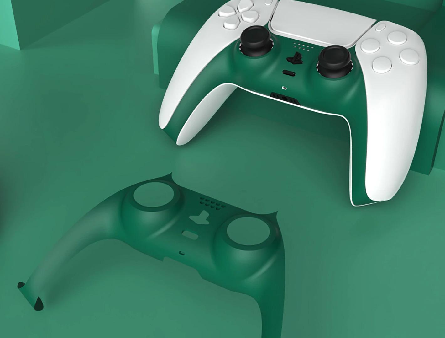 Kryt na DualSense - zelený (PS5)