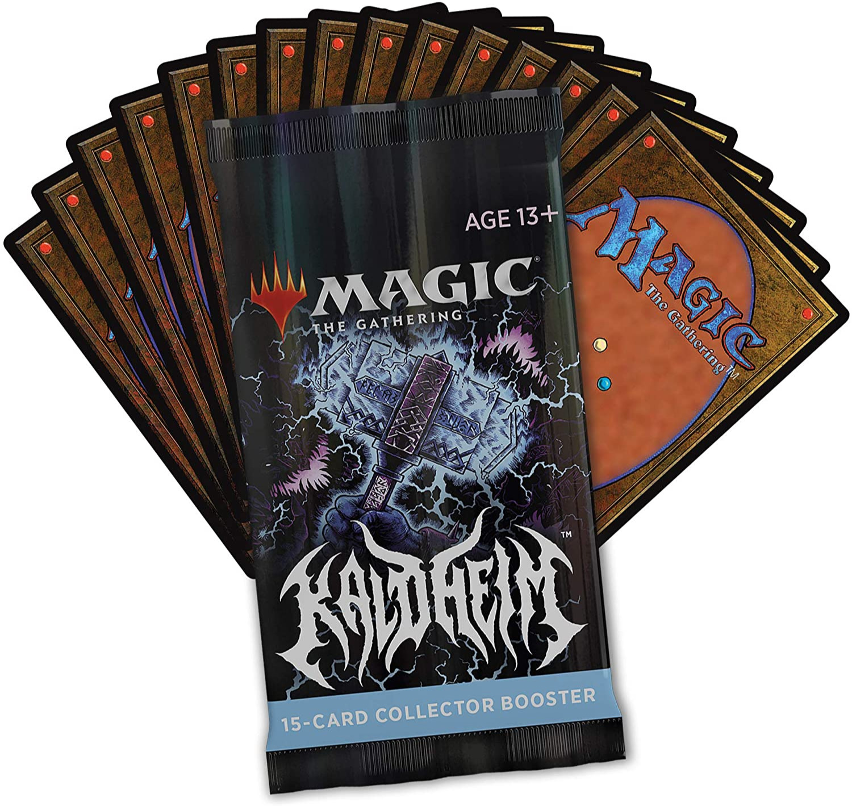 Karetní hra Magic: The Gathering Kaldheim - Collector Booster (15 karet)