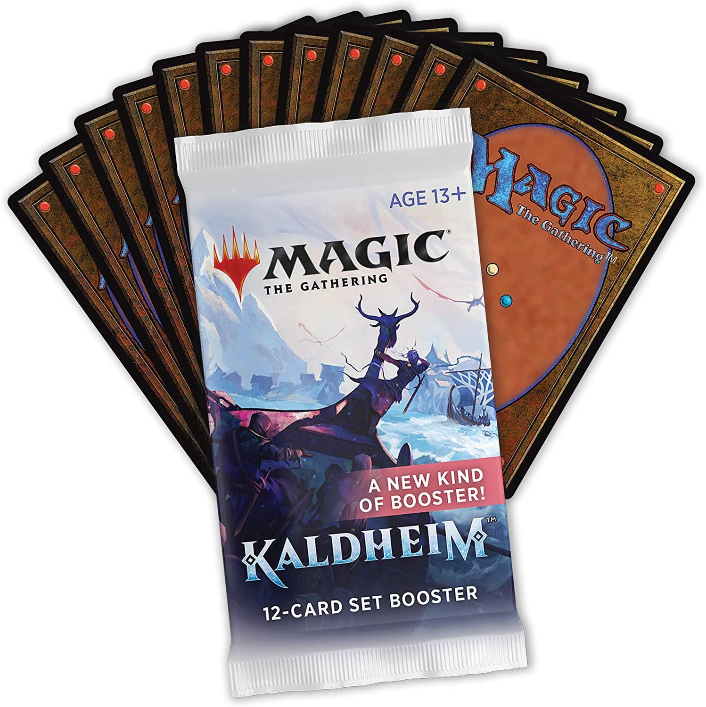 Karetní hra Magic: The Gathering Kaldheim - Set Booster (12 karet)