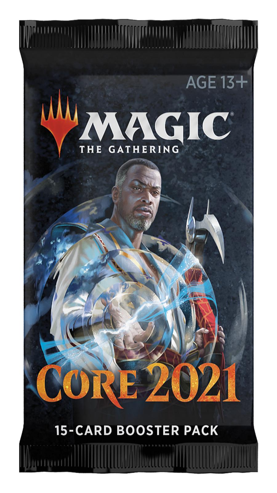 Karetní hra Magic: The Gathering Core 2021 - Draft Booster (15 karet)